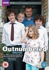 Outnumbered Series 4 DVD BBC Comedy Hugh Dennis Claire Skinner Tyger Drew-Honey