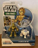 2011 Playskool Heroes ~ Star Wars Jedi Force C-3PO & R2-D2 NEW
