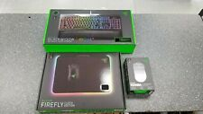 Razer Blackwidow Keyboard v2, Mamba Mouse TE & Firefly Mouse pad - Chroma RGB