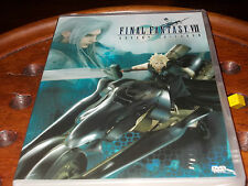 Final Fantasy VII - Advent Children Sony Dvd ..... Nuovo
