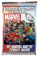 1 box Lot of 50 comics Marvel DC ONLY NO duplication Superman Batman Spider-man