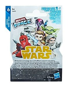 3 PACKETS OF STAR WARS MICRO FORCE FIGURES - SERIES 6