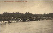 Onset Cape Cod Ma The Dummy Bridge c1910 Postcard
