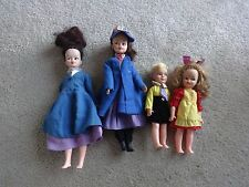 Vintage Horsman 1960's Mary Poppins, Michael & Jane Doll Set + Extra Mary