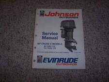 1991 Johnson Evinrude 90 CV 85 88 90 100 115 HP Model Shop Service Repair Manual