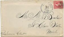 1900 Birch Run, MI Cover via Detroit and Algonac Steamboat