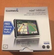 2011 Garmin Nuvi 1450 LMT GPS NEW USA Canada Lifetime Maps New