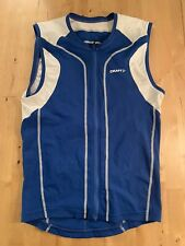 Craft Men's Triathlon Sleeveless/Tank Jersey - Medium