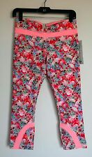 NWT Lululemon Run: Inspire Crop II All Luxtreme Size 6 Color FTEM/BLEC