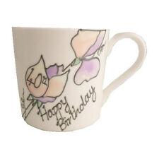Hand Painted 40th Birthday Gift Fine Bone China Mug