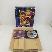 Pandora's Box Original Microsoft PC Big Box Game by Alexey Pajitnov Tetris