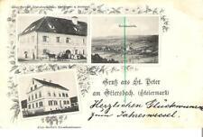 """AK-Steiermark-""""Gruss aus ST.PETER am OTTERSBACH"""" 3.1.1898 !!!"""