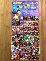 Official Nintendo Power 100th Issue Vintage Poster 100 Issues! Mario Yoshi Rare!