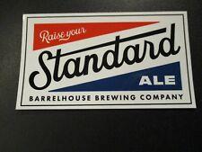 BARRELHOUSE BREWING Paso Robles California Standard A STICKER craft beer brewery