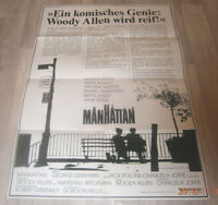 A1-Filmplakat    MAMHATTAN   WOODY ALLEN ,DIANE KEATON
