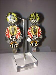 Ayala Bar Dangle Post Back Earrings
