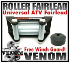 UNIVERSAL HEAVY DUTY ATV ROLLER FAIRLEAD FOR WINCH FREE WINCH GUARD