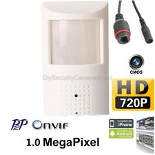Securiy Network CCTV Camera 1.0MP IR Color ONVIF H.264 PIR CCTV Hidden IP Camera