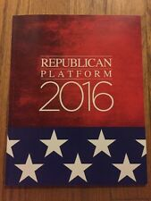 2016 Republican National Convention Republican Platform President Donald Trump