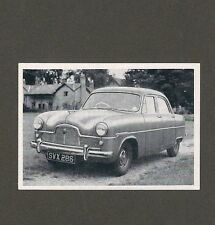 "15/807 sammelbild vecchia tecnica auto FORD ""ZEFIRO"" 6 Limousine Inghilterra anno 1951"