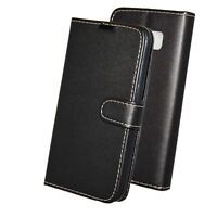 BQ Aquaris M4.5 Book Pouch Cover Case Wallet Flip PU Leather Stylish Phone