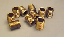 """(10) 1/2"""" Solid Brass Nipples 1/8 IPS 3/8"""" OD Lamp Part Lighting Electrical NSB3"""