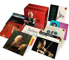 Jascha Heifetz complete STEREO Collection 24cd Beethoven Brahms Tchaikovsky NUOVO