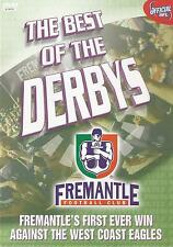 FREMANTLE DOCKERS FIRST WIN AGAINST WEST COAST EAGLES DVD BRAND NEW SEALED AFL