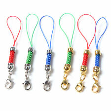 20pcs DIY Cell Phone Lanyard Cords Strap Lariat with Lobster Clasp Split Ring