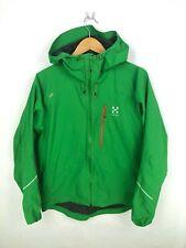Haglofs Gore-tex GTX L.I.M.Series Jacket Mens Medium Green Shell Waterproof
