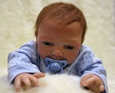 22''55cm  Silicone Lifelike Baby Look Real Realistic Reborn Baby Dolls Xmas Gift