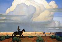 Maynard Dixon : Desert Journey : 1935 : Archival Quality Art Print