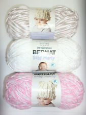 Bernat ~ Baby Marly 5-Bulky Yarn (10.5 oz), Blossom/Seashell/Birch (1 Skein) New