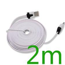 Longitud 10 un. 2 M USB Sync Cargador Cable Cable para iPhone 4 4S Ipad 2 Color Blanco