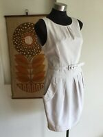Cue Dress, Size 10, Pearl White