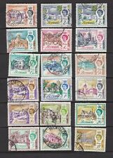 Bermuda 1962-68 Set to £1 Very Fine Used Includes Both 2d's