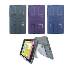 View Stand Holder + TPU Gel Skin Case Cover for ASUS Google Nexus 7 2nd Gen 2013