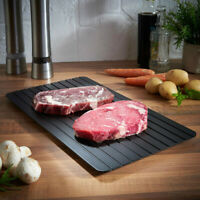 Fast Rapid Thawing Defrosting Tray Kitchen Safe Defrost Meat Or Thaw Frozen  PM