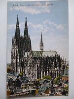 Ansichtskarte Köln Dom von der Martinskirche aus gesehen 1930