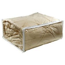 """6 KING SIZE CLEAR COMFORTER STORAGE BAGS(26x29x10"""")"""