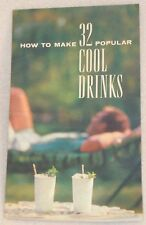1959 32 Southern Comfort Whiskey 100 Proof Recipe Cocktail Mix Drink AD Pamphlet