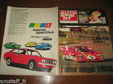 AUTOSPRINT 1971/49=FERRARI 312 P.=ICKX=KYALAMI 9 ORE=FIAT 128 SPORT COUPE'=