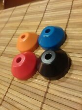 45's PLASTIC  ADAPTERS - SUPERB DESIGN FOR THE COOLEST DJ!! 4 COLORS AVAILABLE