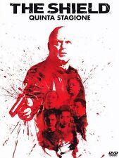 COFANETTO DVD - THE SHIELD STAGIONE SERIE 5 SERIE TV (4 DVD) - Nuovo!!
