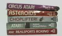 Atari 2600 Lot of 5 Games Arcade Nostalgia Collection From 80's in boxes