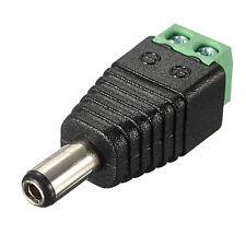 Plug Screw Terminal  CCTV Adaptor power supply  2.1mm x 5.5mm II