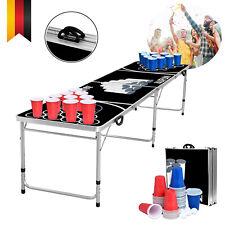 Bier Pong Tisch Klapptisch Campingtisch Party Bier Spiel Table inkl. 100 Becher*