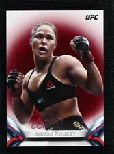 2018 Topps UFC Knockout Red 1/8 Ronda Rousey #8