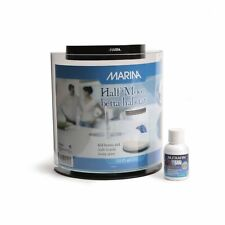 Marina half moon Betta tank .8 gallon with betta water conditioner.
