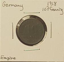 1918 Germany 10 Pfennig